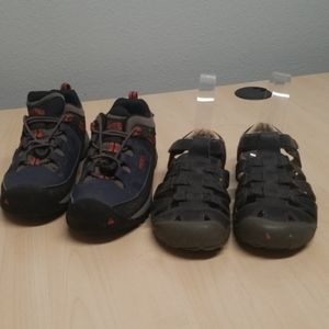 Keen closed toe sandals 13 and hiking Shoes 1